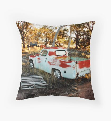 Rustic Outback Throw Pillow