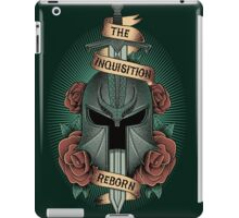 The inquisition reborn iPad Case/Skin