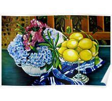 Still LIfe - Oil Painting Poster