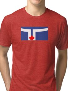 Flag of Toronto  Tri-blend T-Shirt