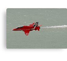 Single Arrow Fast And Low - Beachy Head - Eastbourne 2014 Canvas Print
