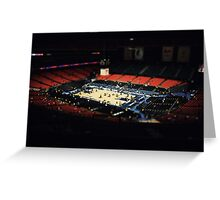 ACC tournament Greeting Card