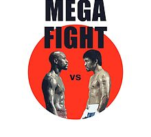 Mayweather vs Pacquiao, The Mega fight by ches98
