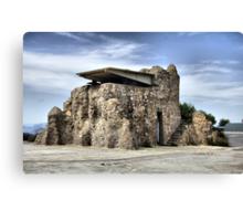 Lookout tower, Bateria de Cenizas, Costa Calida, Spain  Canvas Print