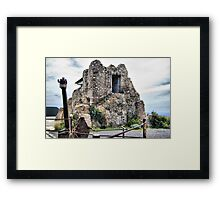 Watchtower, Bateria de Cenizas, Costa Calida, Spain  Framed Print