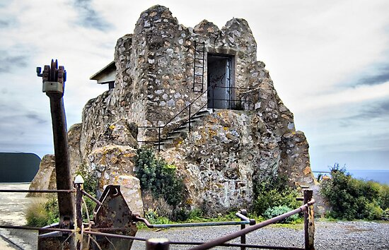 Watchtower, Bateria de Cenizas, Costa Calida, Spain  by Squealia