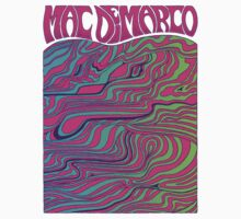 Mac Demarco Psychedelic T-Shirt
