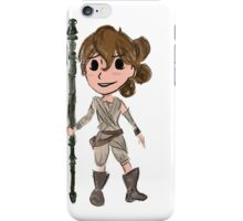 Star Wars The Force Awakens Rey iPhone Case/Skin