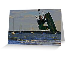 Wave chaser Greeting Card