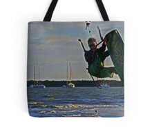 Wave chaser Tote Bag