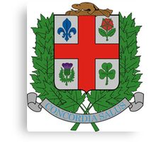 Montreal Coat of Arms  Canvas Print