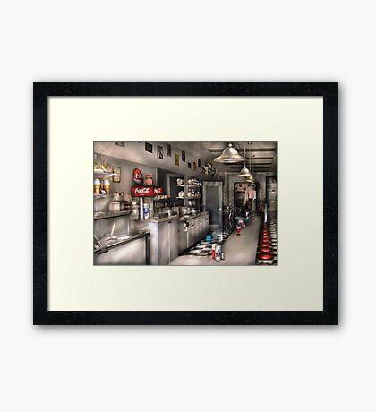 The Soda Fountain  Framed Print