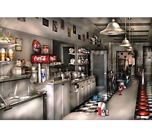 The Soda Fountain  Photographic Print
