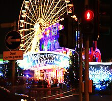 Swansea's Winter Wonderland, Swansea, December 2008 by Victoria Morton