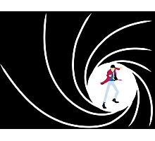 Lupin the 007 Photographic Print