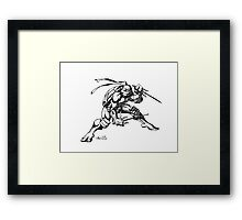 Raphael - The Red Turtle Framed Print