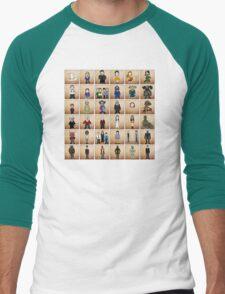 Buffy - Mini Monsters  Variant  Men's Baseball ¾ T-Shirt