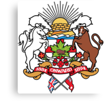 Calgary Coat of Arms Canvas Print