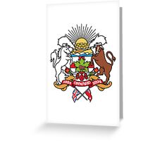 Calgary Coat of Arms Greeting Card