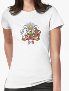 Calgary Coat of Arms Womens Fitted T-Shirt