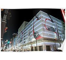 Ginza by Night 1 Poster