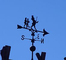 Danish Whimsy Weathervane by Linda Scott