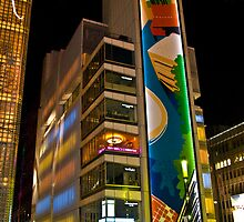 The Sony Building in Ginza by Richie Wessen