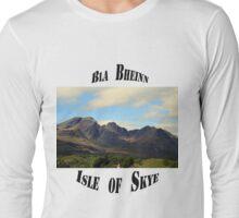 Bla Bheinn  (Blaven) Long Sleeve T-Shirt