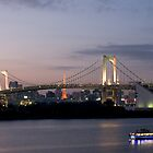 The Tokyo Bay Rainbow Bridge by Richie Wessen