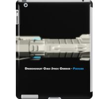 8 Bit Pixel Spaceship Dreadnought Class Space Carrier - Plusllian iPad Case/Skin