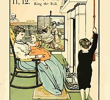 The Buckle My Shoe Picture Book by Walter Crane 1910 22 - Eleven Twelve Ring the Bell by wetdryvac