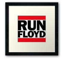 RUN FLOYD - RUN DMC Pacquiao by AiReal Apparel Framed Print