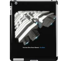 8 Bit Pixel Spaceship Leviathan Class Space Carrier - The Duke iPad Case/Skin