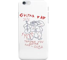 Guitar Dad iPhone Case/Skin