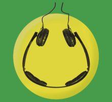Headphones smiley by w1ckerman