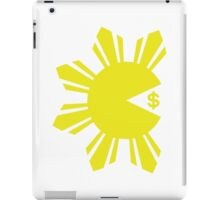 PACMAN PACQUIAO EATING MONEY by AiReal iPad Case/Skin