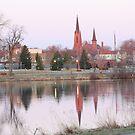 Mill Pond Austin, MN. by Brian Dodd