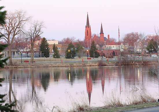 Mill Pond Austin, MN. by Brian Dodd