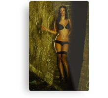 Stacey - hitchhiker 3 Metal Print