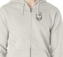 Midwest Born  Zipped Hoodie