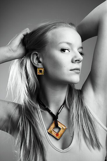 Yellow Jewelry by Sandra Kemppainen