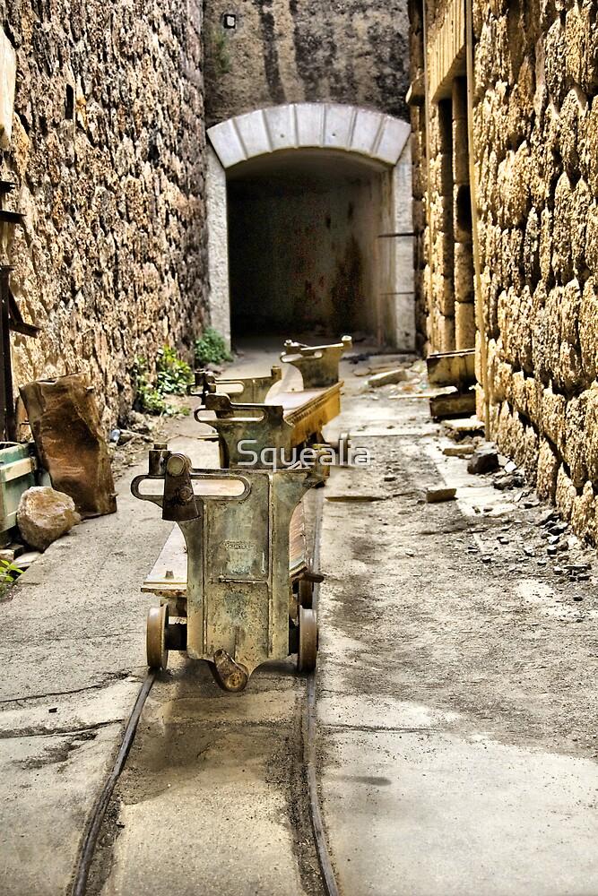 Ammo trollies! Bateria de Cenizas, Costa Calida, Spain  by Squealia