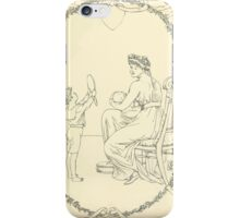 The Buckle My Shoe Picture Book by Walter Crane 1910 61 - Mid Plate Two iPhone Case/Skin