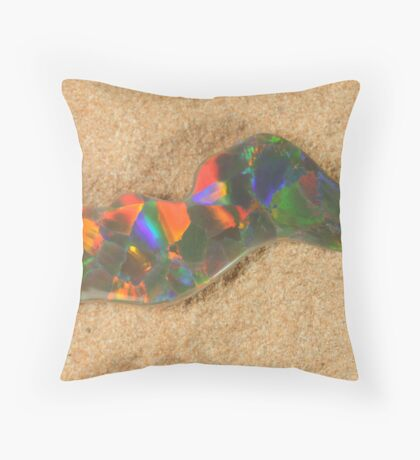 Opal Free Form Throw Pillow