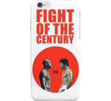 Fight of the Century iPhone Case/Skin