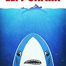 Left Shark Parody - Jaws - Funny Movie / Meme Humor by badbugs