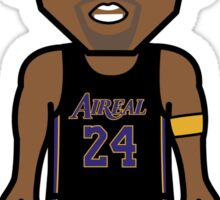 Angry Mamba Basketball by AiReal Apparel Sticker