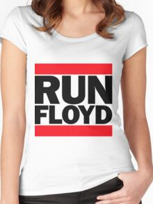 RUN FLOYD - RUN DMC Pacquiao by AiReal Apparel Women's Fitted Scoop T-Shirt