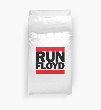 RUN FLOYD - RUN DMC Pacquiao by AiReal Apparel Duvet Cover
