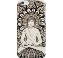 The Peaceful Buddha iPhone Case/Skin